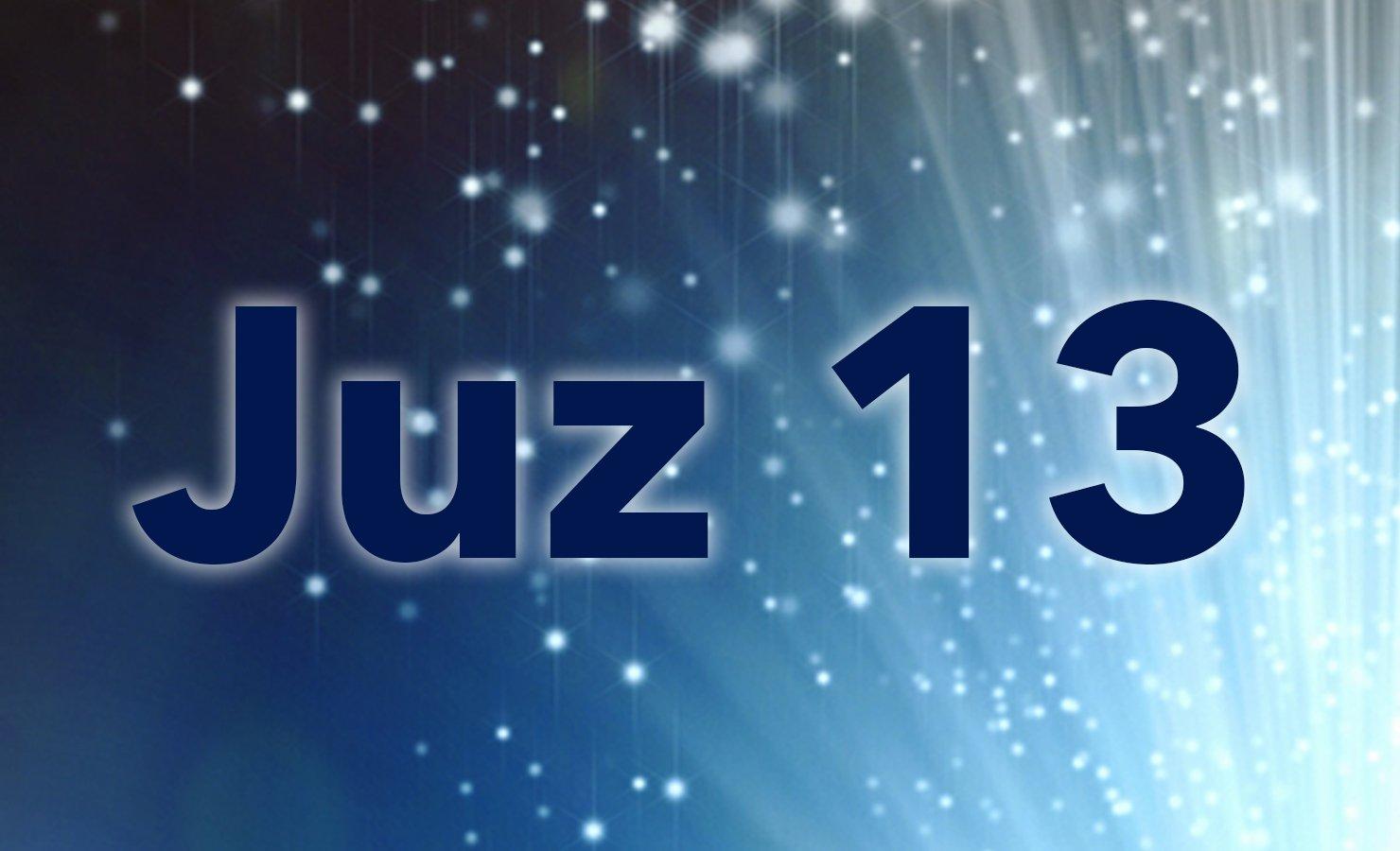 Juz-13